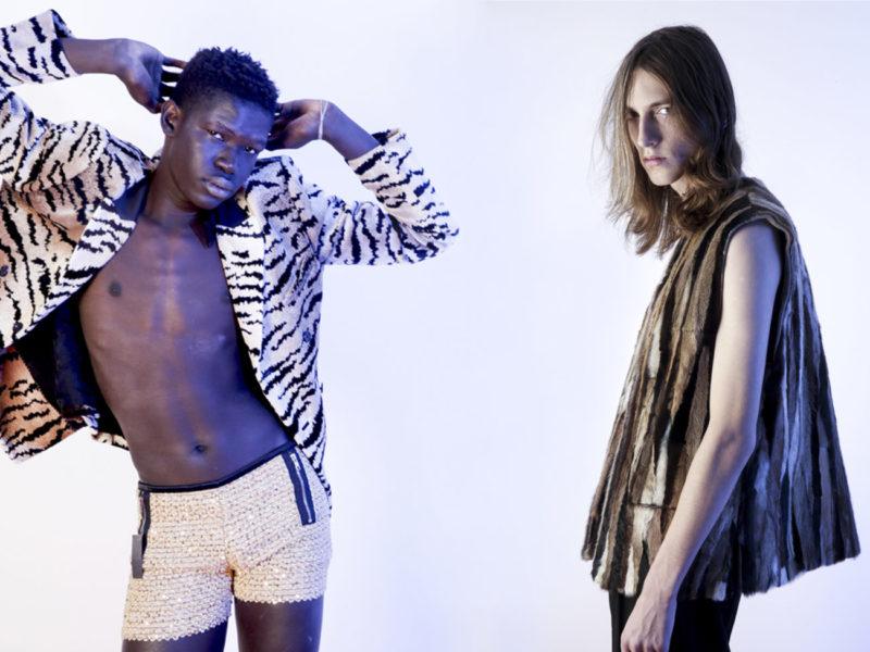 Fashion editorial Lorenzo Marcucci