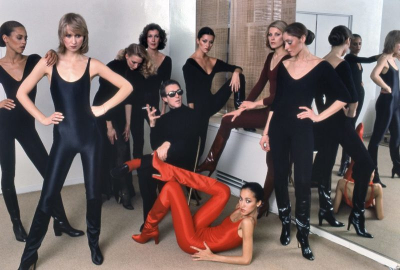 Halston with Models, New York, 1977 ©Harry Benson : Courtesy Staley-Wise Gallery, New York