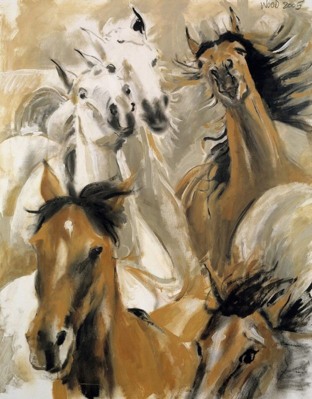 Wild Horses_Ronnie Wood Collection