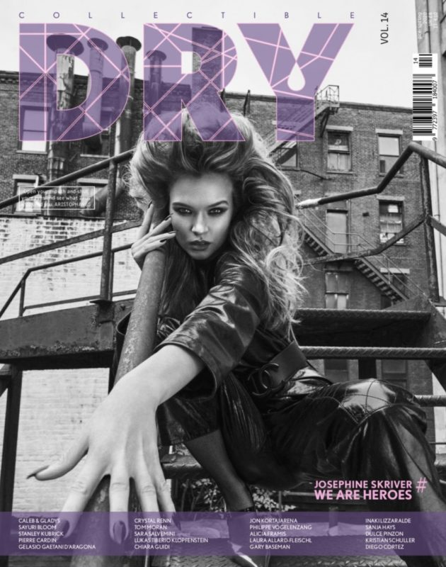 Collectible DRY Cover Issue 14 We Are Heroes Josephine Skriver