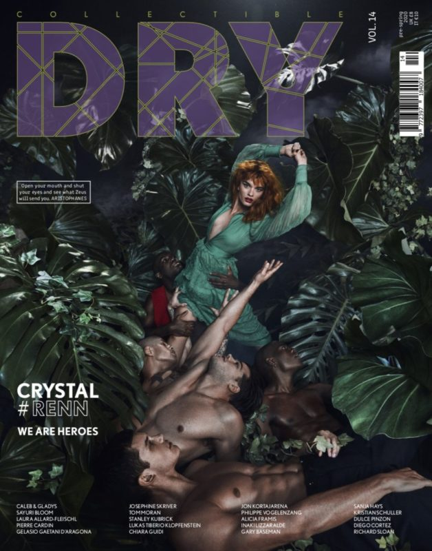 Collectible DRY Issue 14 Cover We Are Heroes Crystal Renn