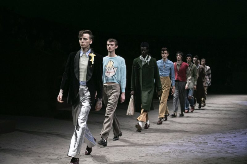 Wear your own feelings_Gucci_FW Menswear 20_collection_MFW_Courtesy of Gucci Images by Dan Lecca