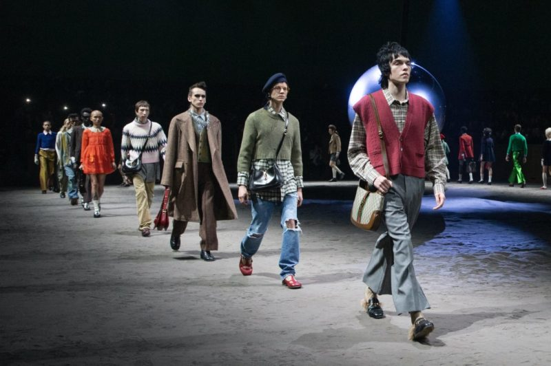 Wear your own feelings_Gucci_FW Menswear 20_collection_MFW_Courtesy of Gucci Images by Kevin Tachman