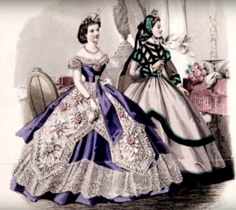 Decades of Iconic Fashion_1860s fashion_Victorian Age