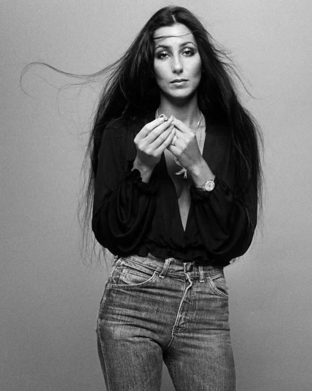 Goddess Like Any Woman_Cher_I'd Rather Believe in You_album cover_Norman Seeff