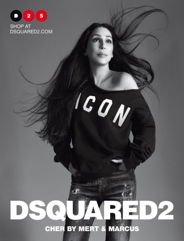 Goddess Like Any Woman_Dsquared2_Spring Summer 2020_campaign_adv_Cher