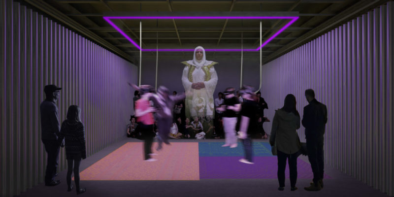 ONXStudio_Rendering_Image by Leong Leong. Simulation of art inspired by Sensorium