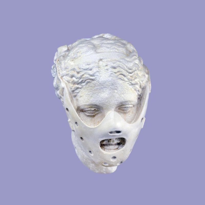 New History Mask_ANTIQUITY 2.0 by Micha Cattaui_Unseen Amsterdam_Dry 9_Classical Heretical