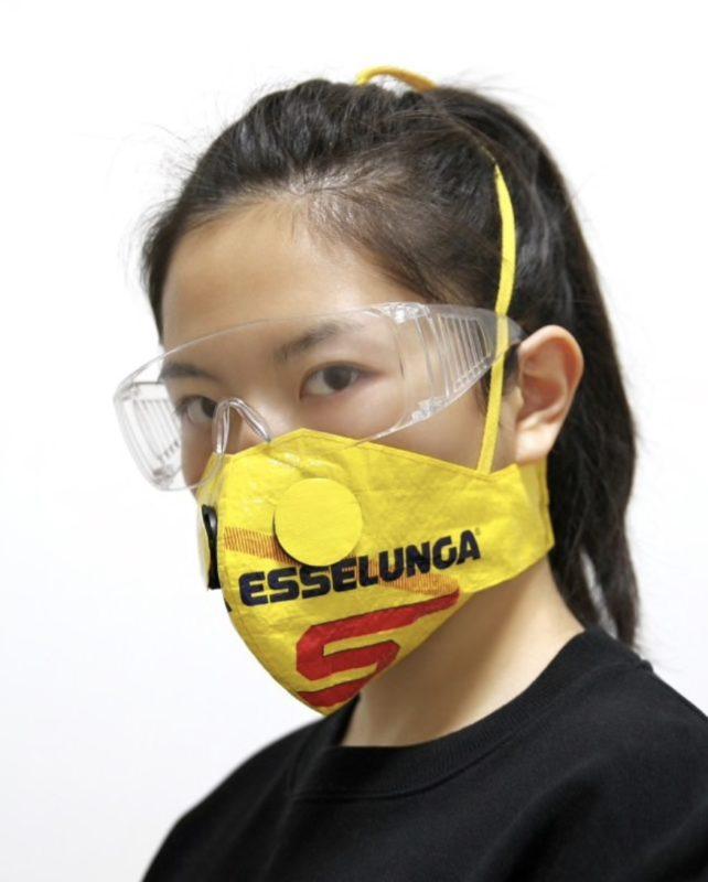New History Mask_Zhijun Wang_face mask_sneakers