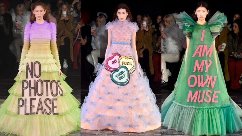 Shrieking Places_The Viktor & Rolf Spring Summer 2019 haute couture show in Paris_Getty
