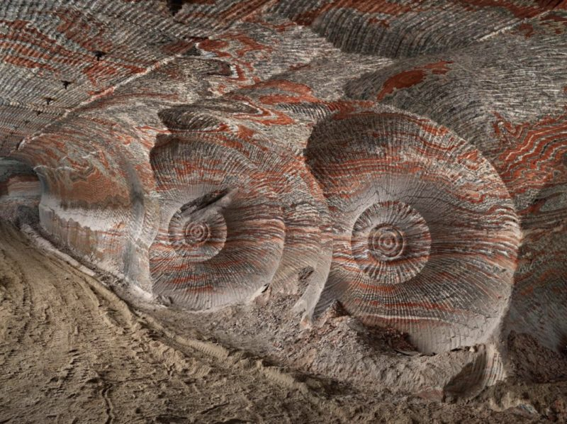 Anthropocene_Photo by Edward Burtynsky_Uralkali Potash Mine #4, Berezniki, Russia 2017_Courtesy Admira Photography, Milan / Nicholas Metivier Gallery, Toronto