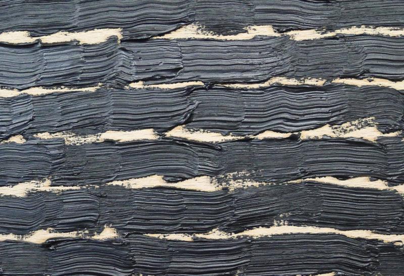 Art at Your Home_ Sabrina Amrani Gallery_Online Viewing Rooms_From Home_Joël Andrianomearisoa_ Exercice de peintre autour d'un noir irréprochable