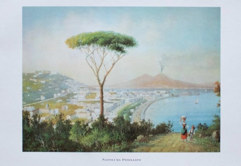 Happiness Index_DRY Issue 1_Posillipo_1964 View to Naples From Posillipo, Original Lithograph