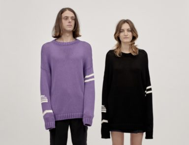 New 80s Knit Wave_Avril8790_SS20 collection_interview_Francesco Menci and Maria Elena Sanarelli_knitwear specialist_contemporary art_psychedelia