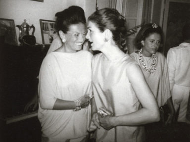 60 Years of Comfy Suit_Irene Galitzine and Jacqueline Kennedy 1960s
