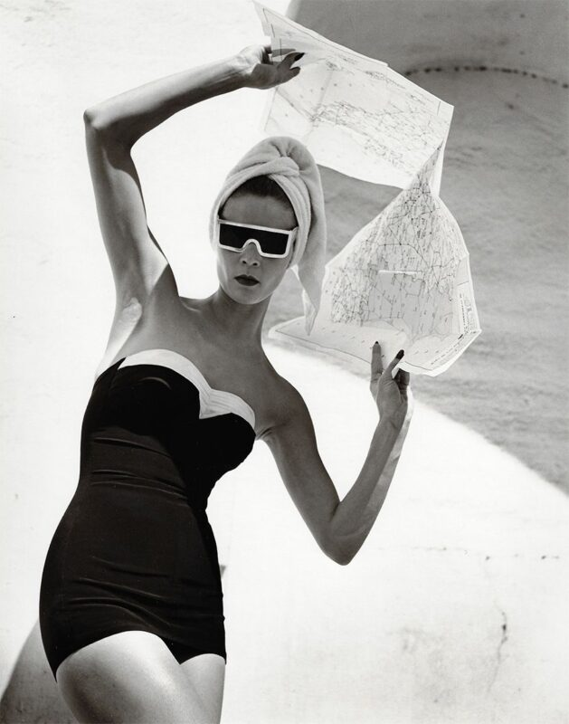 Opposites to Zero_Louise Dahl-Wolfe_Jean Patchett, Granada, Spain, 1953