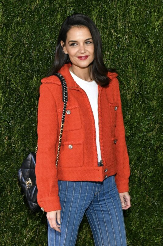 So Cool Mademoiselle_Chanel 19 bag_Karl Lagerfeld and Virginie Viard_Katie Holmes_Chanel_through Her Lens_The Tribeca Womens_Filmmaker_Program_Luncheon