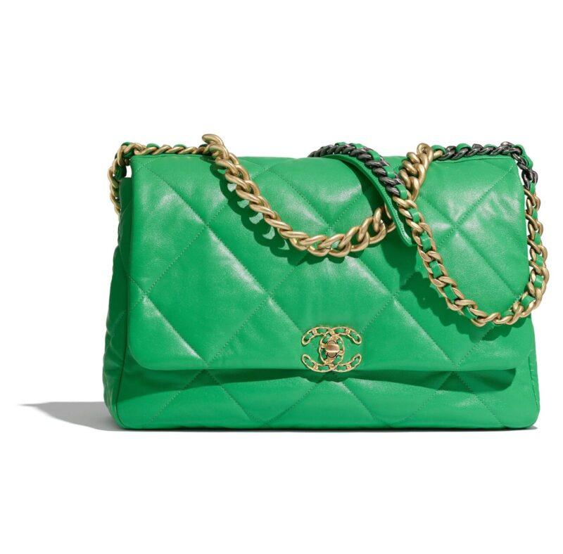 So Cool Mademoiselle_Chanel Spring Summer 2020_SS20_Virginie Viard_Grand Palais_new era_Chanel 19 bag