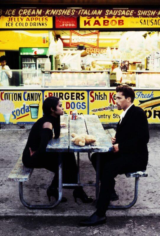 Opposites to Zero_Stephanie Pfriender Stylander_Karen Alexander, Coney Island Tales, German Elle, New York, 1995