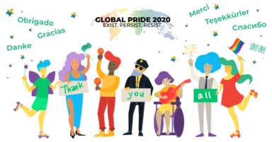 A Rainbow to Go_Global Pride 2020_Exist Persist Resist