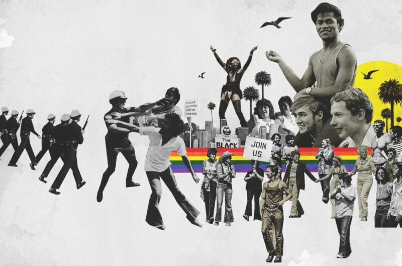 A Rainbow to Go_Queer Revolution Collage_Illustration by Lincoln Agnew