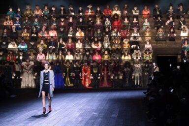 Costume Pills_Louis Vuitton Fall Winter 2020_fashion show_Nicolas Ghesquiere_ Milena Canonero costume designer