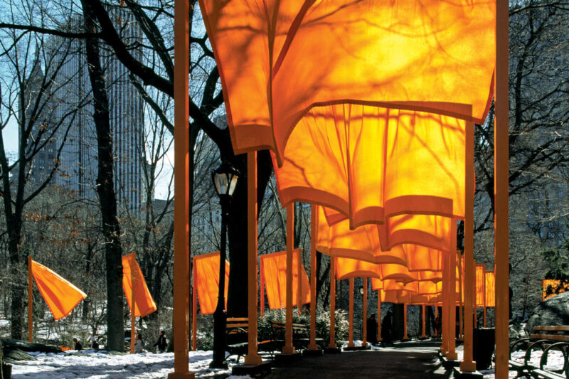 Love Till The Impossible_Christo and Jeanne-Claude, The Gates, Central Park, New York City, 1979-2005_Photo Wolfgang Volz