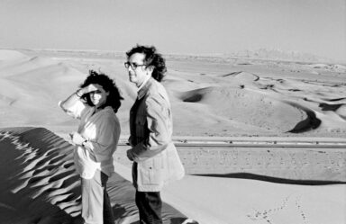 Love Till The Impossible_Christo and Jeanne-Claude during their first trip to the United Arab Emirates, February 1979_Photo Wolfgang Volz
