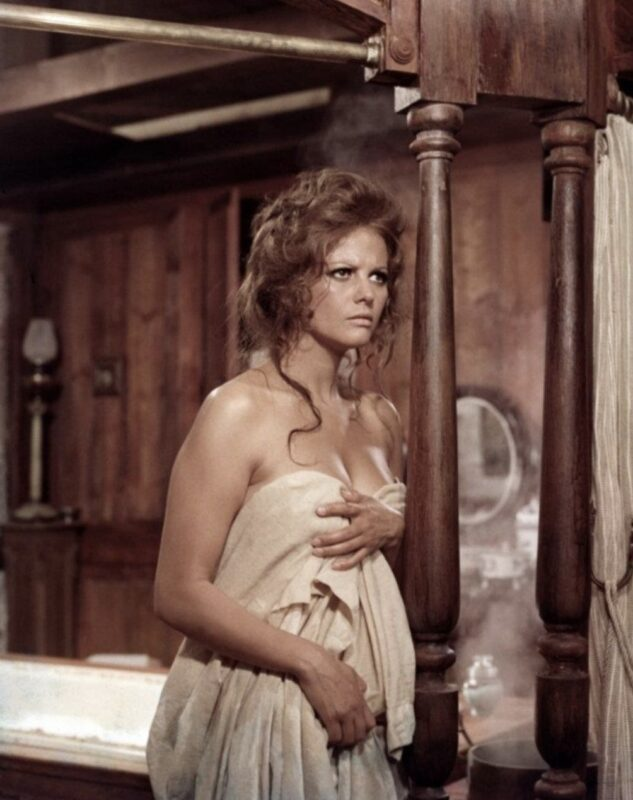 Addio Maestro_Ennio Morricone_Claudia Cardinale in Once upon a time in the West by Sergio Leone, 1968