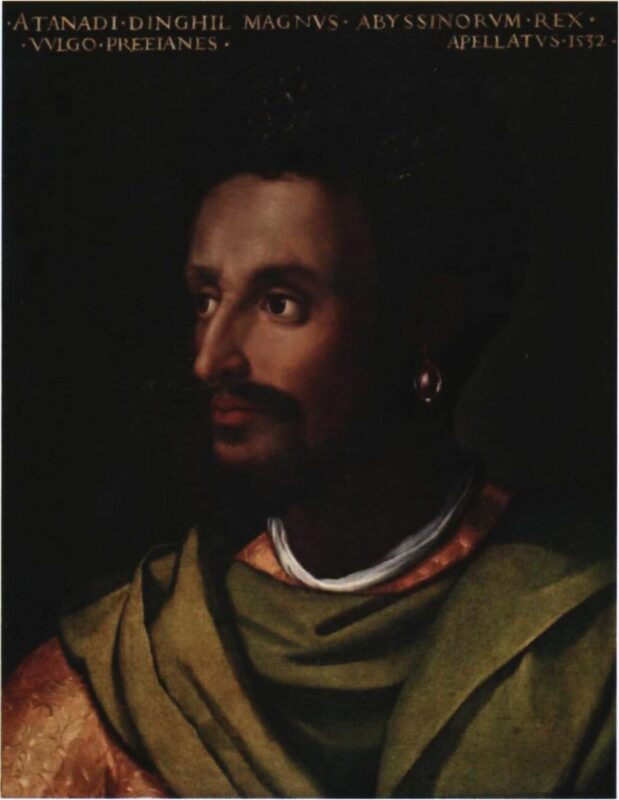Blacks Matter in Art Too_Uffizi Gallery_Black Presence_live project_Tik Tok_Facebook_exhibition_performance_King of Abyssinia and Ethiopia by Cristofano dell'Altissimo