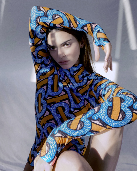 Kendall Jenner for Burberry TB summer 2020 collection