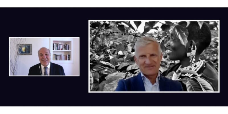 MFW New Digital World_Alan Friedman in conversation with Andrea Illy CEO of illycaffé_The Future is Sustainable