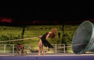 Ring the Future_Greek Theater of Siracusa_National Institute of Ancient Drama_Mircea Cantor_performance_The sound of my body is the memory of my presence