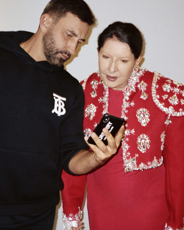 7 Deaths of Maria Callas_Marina Abramović_performance_theater_lyrical_Burberry costumes_Riccardo Tisci_Behind the scenes Courtesy of Burberry