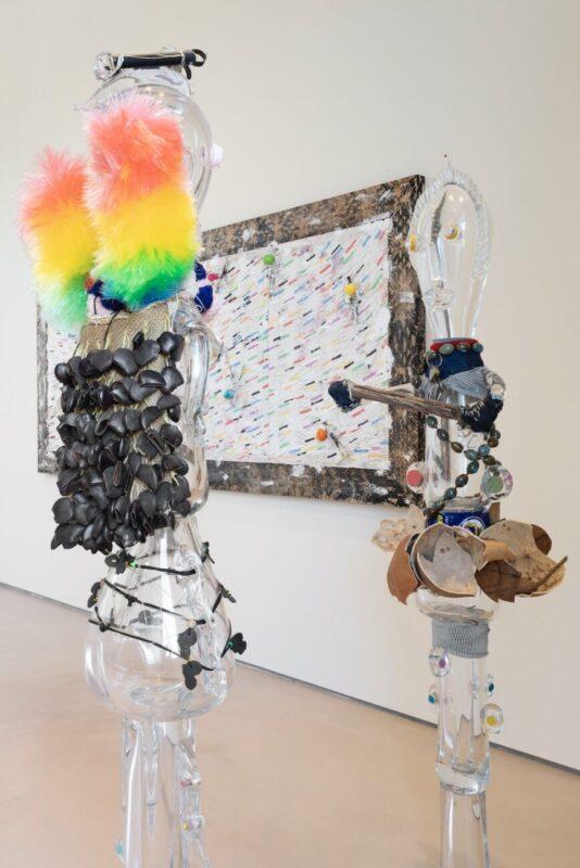 Fantastic Utopias_contemporary art exhibition_Rocca di Angera 2020_Terre Borromeo_PASCALE MARTHINE TAYOU, Totem Cristal, 2019, Courtesy the artist and Galleria Continua, Photo Andrea Rossetti