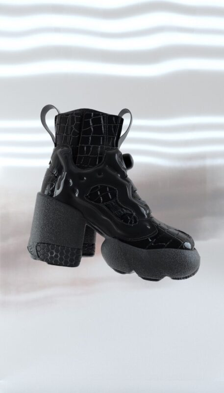 Next Fusion Shoe_Maison Margiela x Reebook_AW20_footwear_Tabi_Instapump Fury