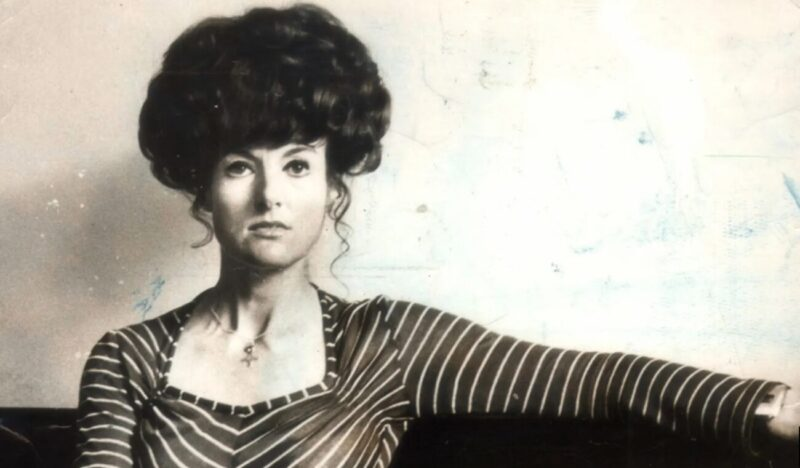 Juanita Nielsen in her office, 1974