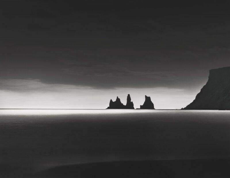 Primitive Elements_Francesco Bosso_exhibition_Museo Pignatelli_Naples_black and white photography_lanscape photographer_Cliff Sentinell, 2012 Iceland