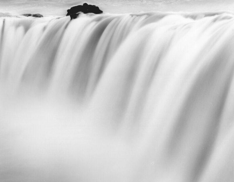 Primitive Elements_Francesco Bosso_exhibition_Museo Pignatelli_Naples_black and white photography_lanscape photographer_Fluid Columns, 2013 Iceland