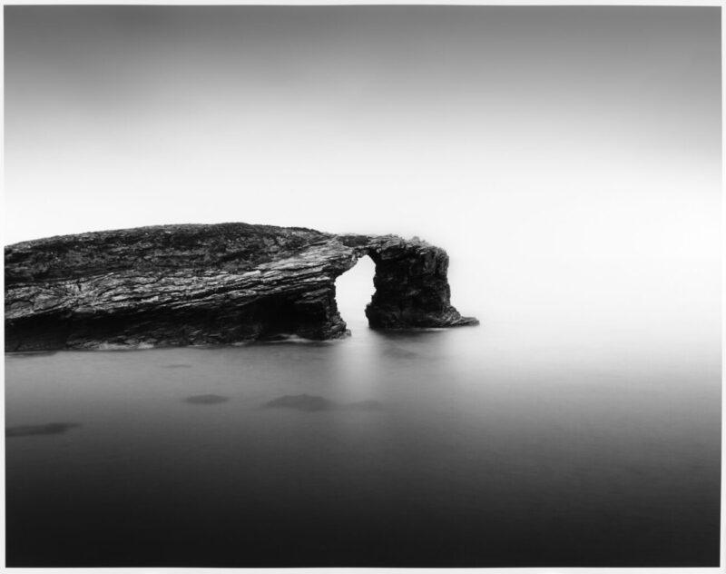 Primitive Elements_Francesco Bosso_exhibition_Museo Pignatelli_Naples_black and white photography_lanscape photographer_Golden Arch, 2015 Spain