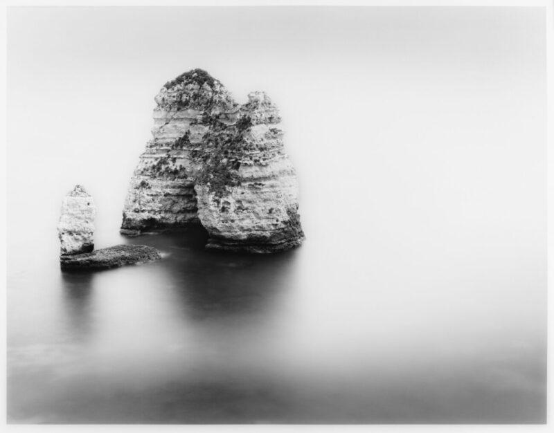 Primitive Elements_Francesco Bosso_exhibition_Museo Pignatelli_Naples_black and white photography_lanscape photographer_Over the Cliff, 2018 Portugal