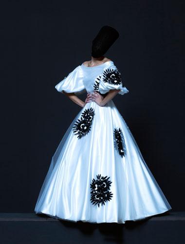 Dress by Danilo Donati for '120 days of Sodoma' by Pier Paolo Pasolini. Photo Mustafa Sabbagh. Courtesy of Sartoria Farani