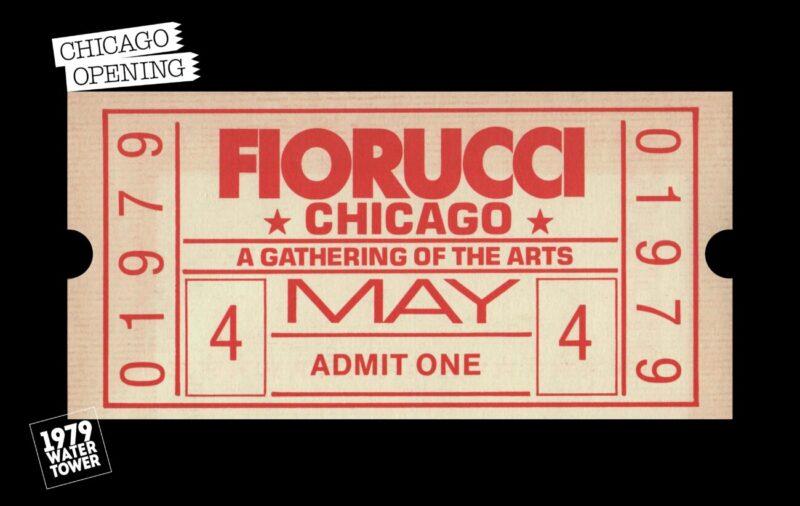 Caro Elio_opening Fiorucci store in Chicago, 1979