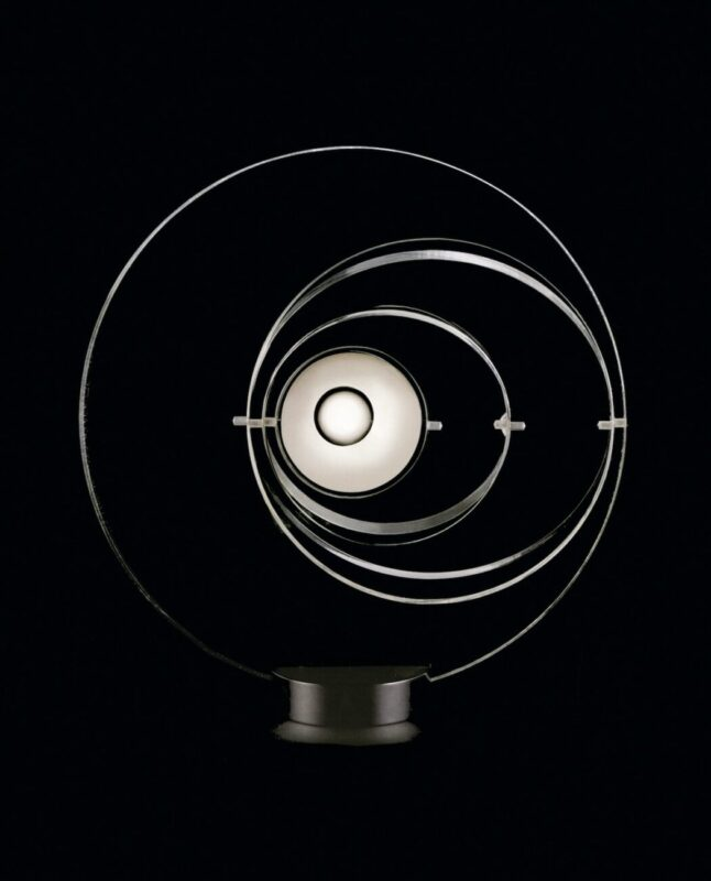 Fashion Future_DRY Vol. 14_Letter to Pierre Cardin_Chiara Guidi_Satellite lamp designed by Yonel Lebonici for Pierre Cardin