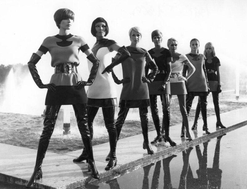 Fashion Future_DRY Vol. 14_Letter to Pierre Cardin_Chiara Guidi_Two-tone jersey dresses