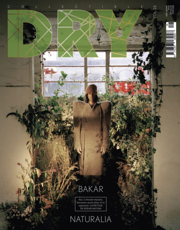 CollectibleDRY Vol. 16_NATURALIA_cover starring Bakar