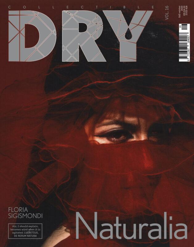 CollectibleDRY Vol. 16_NATURALIA_cover starring Floria Sigismondi