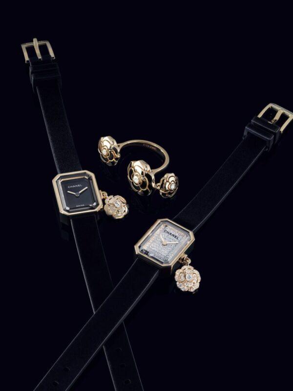 Eternal Charme_Chanel_J12 Eternal Instant_watch_ Extrait de Camélia_charm ring_jewellery