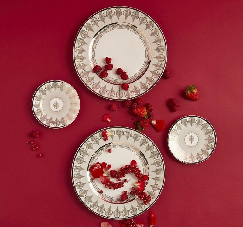 Romance Reinaissance_Valentine's Day 2021_Ginori 1735_dinner set Magnifico collection