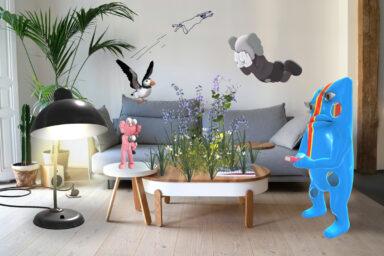 Unreal City_Acute Art_Dazed_AR art_augmented reality_London Festival_home visiting_app